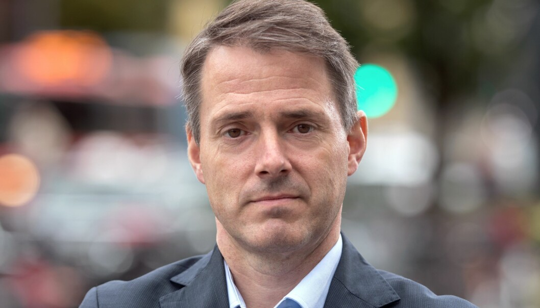Ivar Horneland Kristensen, administrerende direktør i Virke, hovedorganisasjonen for handels- og tjenestenæringen.