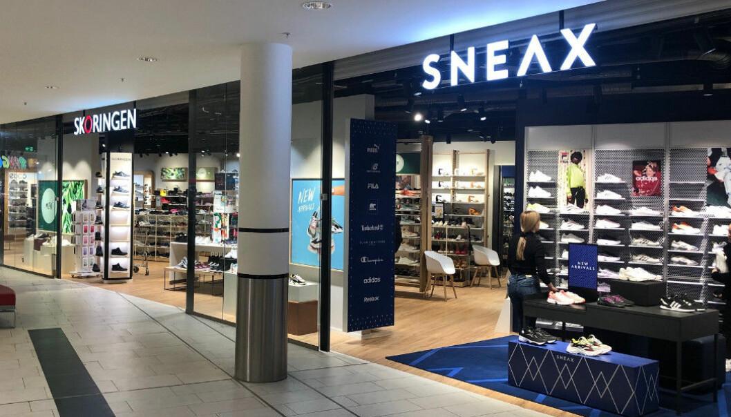 21 Sneax Stores i Norge og Danmark