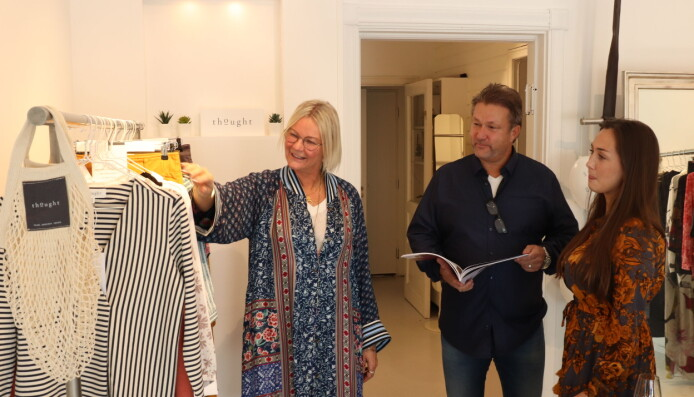 På innkjøp hos Harald og Hedda Dahlstrøm