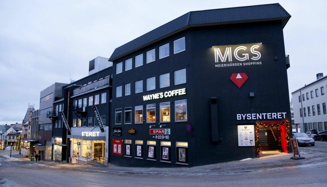 Bysenteret i Harstad tilbyr netthandel og hjemkjøring