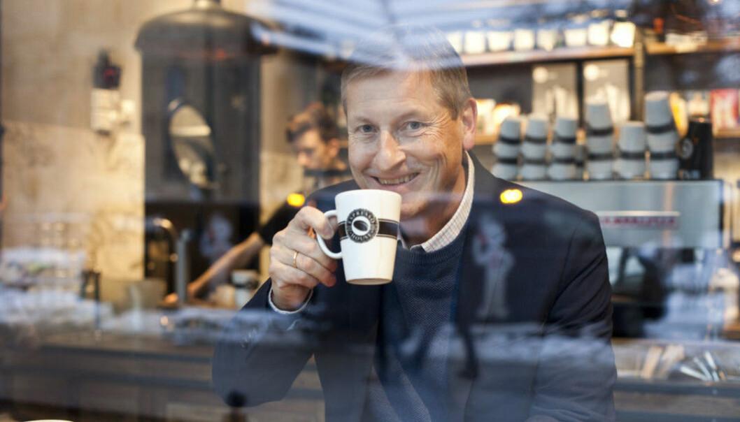 Bjørn Næss, adm. direktør i Oslo Handelsstands Forening