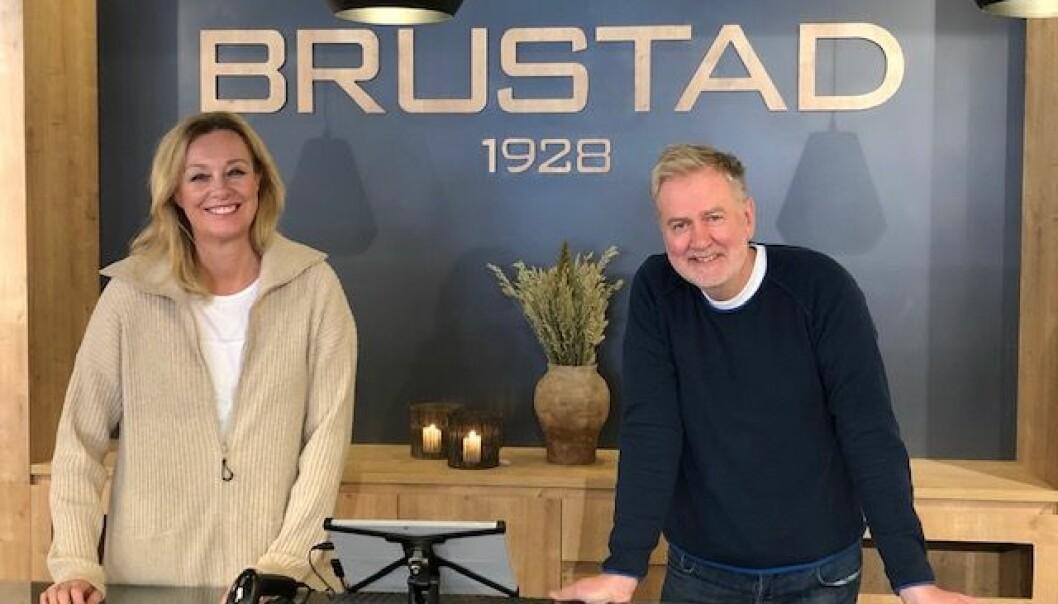 Ellen og Per Arne Brustad Svensson kunne endelig ønske velkommen til nyrestaurert butikk