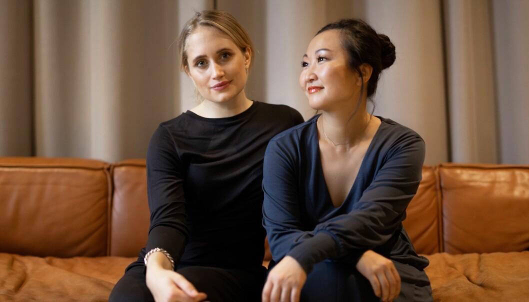 Anette Miwa Dimmen og Lisen Follin