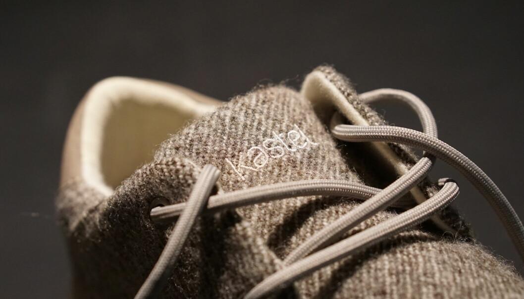 Kastel lager sneakers av norsk ull