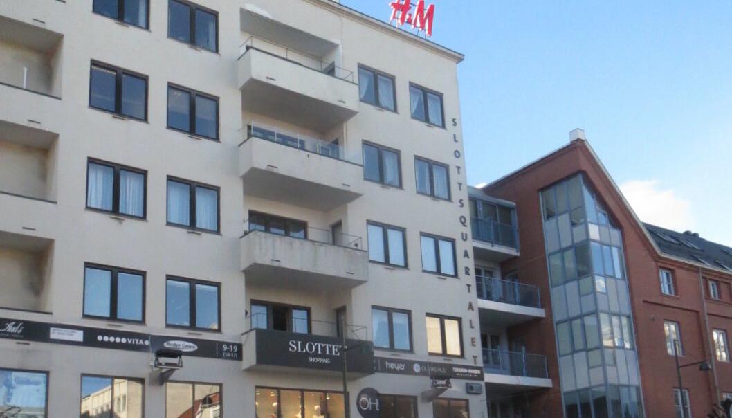 Kjøpesenteret Slottet i Kristiansand.