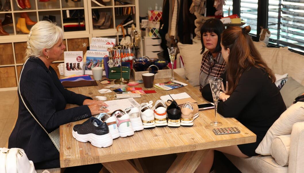 Anne Saura i Bibba og de andre leietakerne i Norwegian Fashion Center strekker innkjøpsperioden