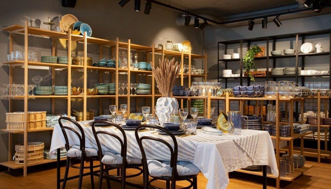 To nye H&M Home konseptbutikker i Norge