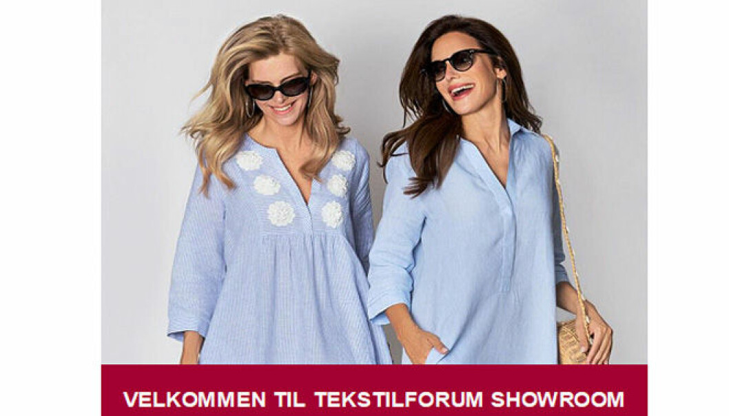 Tekstilforum SHOWROOM - ny visningskanal for bransjen