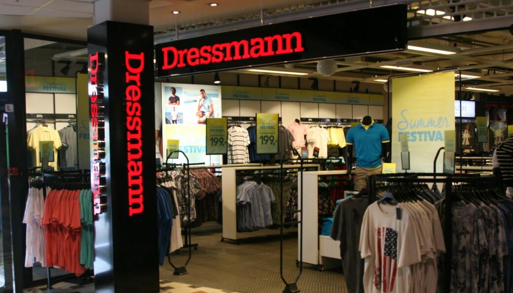 Dressmann Østerrike stenger 31 butikker.