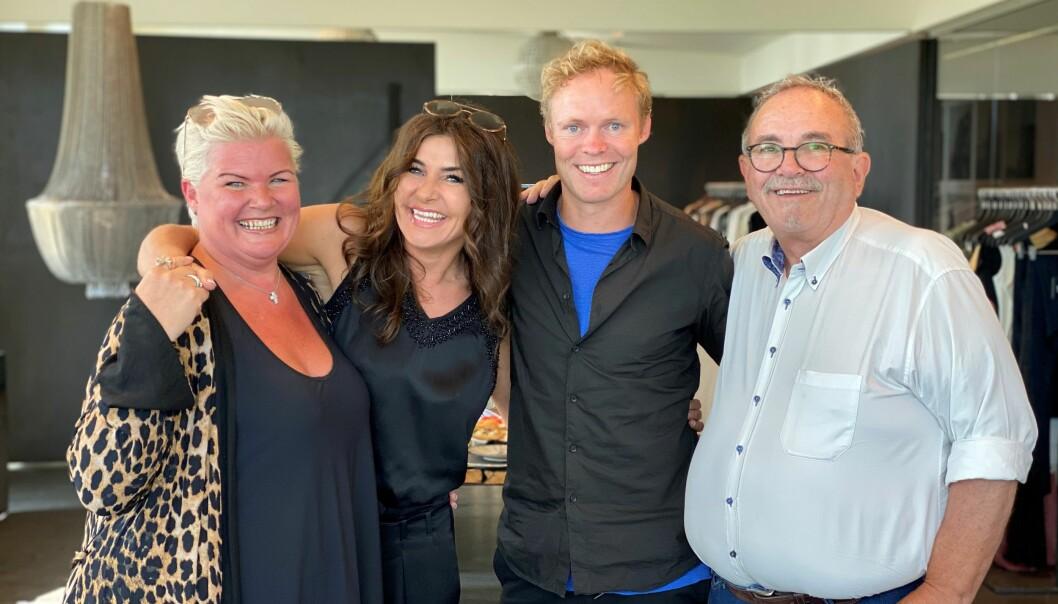 Lise Selbæk, sjefdesigner og grunnlegger Janni Lymann, daglig leder og medeier René Thormann Jensen og Roar Selbæk