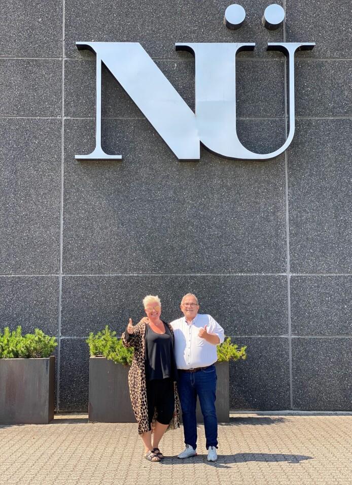 - Vi gleder oss stort til å jobbe 2123med Nü, sier Lise og Roar Selbæk