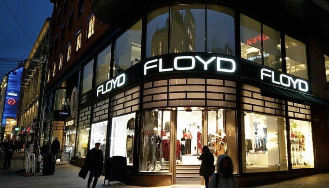 Butikken i Grensen er Floyds flaggskip. Nå kommer det fem nye Floyd-butikker