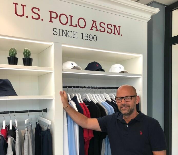 Frank Enersen er ny selger for U.S. Polo