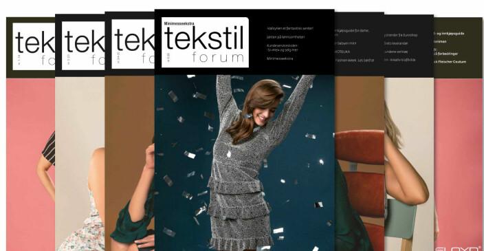 Se hva du kan lese om i Tekstilforum 5/2020