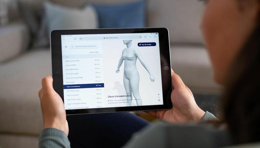Sveitsiske Fisions app skal gi Zalando-kundene bedre muligheter til å bestille riktig størrelse.