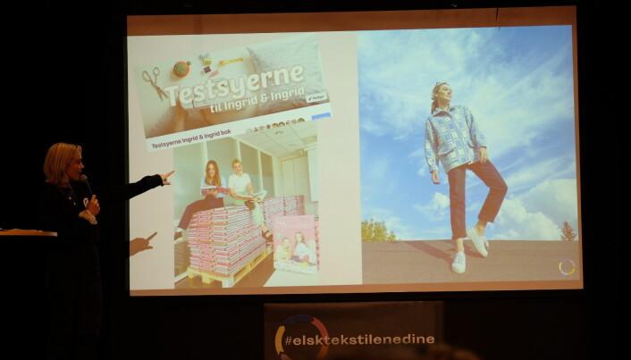 Ingrid Bergtun avsluttet tirsdagens Tekstilaksjon konferanse med et spennende dypdykk inn i en verden hvor sosiale medier nærmest har hacket og utfordret hele mote-systemet.