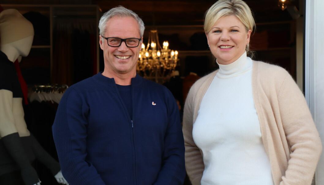 Gunn Anne Vinje Lyngstad og John Are Lindstad