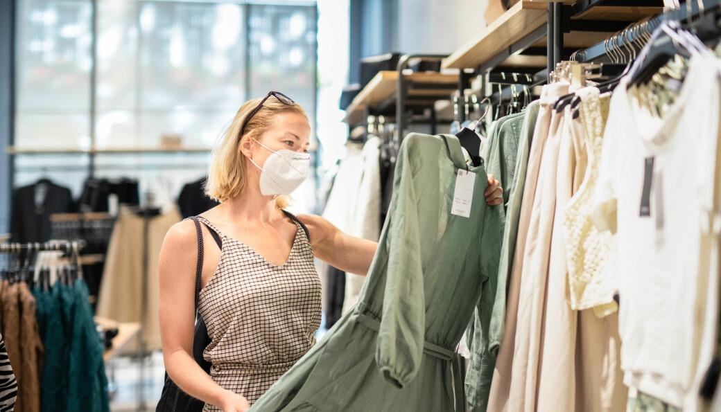Tross korona-pandemien ble det startet 19 nye virksomheter i tekstilbransjen i oktober (illfoto)