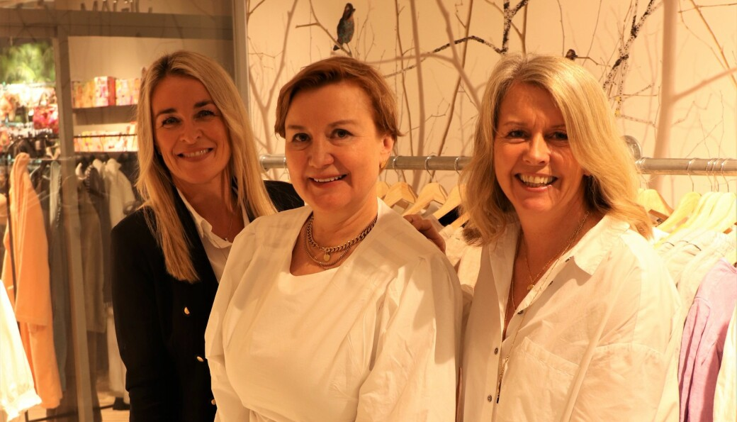 Nytt samarbeid: Fra venstre Hege Øverås, Lise Camilla Øhrling og Kristin Larssen