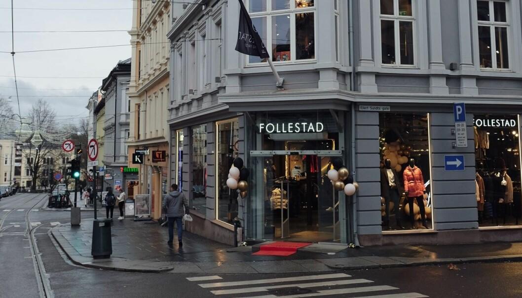 Follestads nye butikk i Bogstadveien