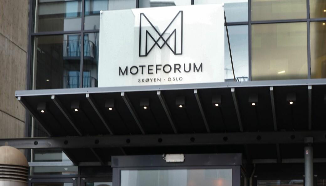 Ingen messeaktiviteter av noe slag i på Fornebu eller Moteforum den kommende uken, og den enkelte leverandør bestemmer om de har åpent eller ikke