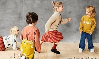 Minories – nytt merke for barn fra KappAhl