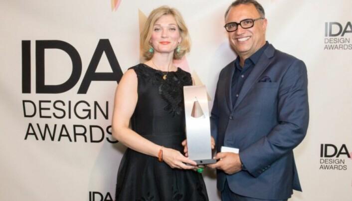 Anne Cecilie Rinde mottar IDA Design Awards i 2017