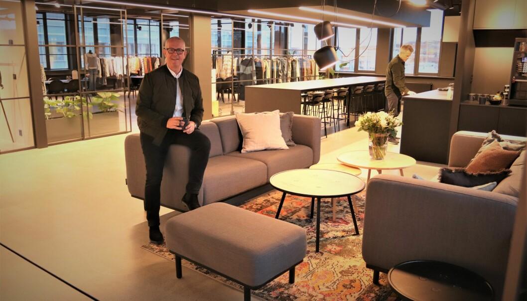 Et romslig og stilig lokale som vi gleder oss til å møte kundene i, sier Leif Winterskov