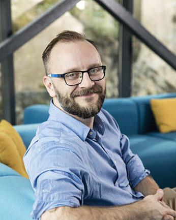 Steffen Larvoll er Head of Business Development i DRIW