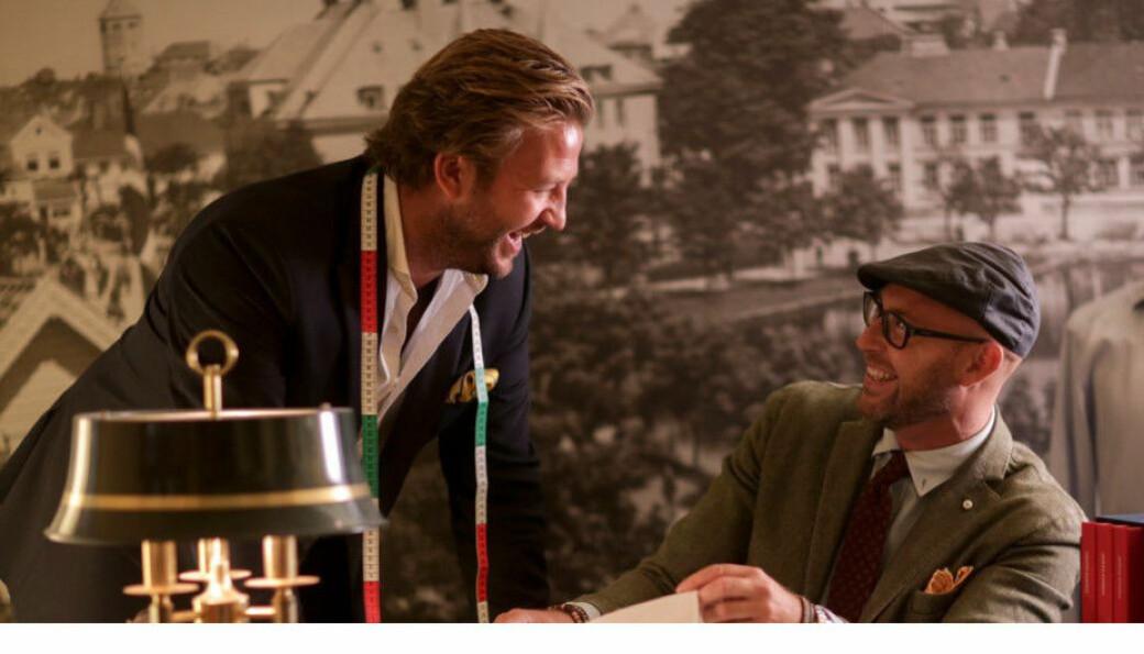 Kompanjongene Mathias Made Wijks (t.h.) og Alexander Hart Røed har også gitt navn til firmaet.