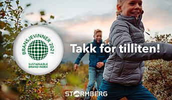 Stormberg mest bærekraftig