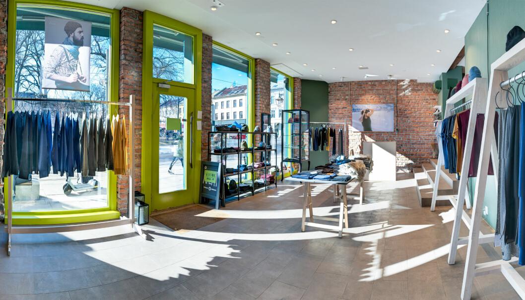 Lyse og delikate lokaler med plass til FOGG og andre merker