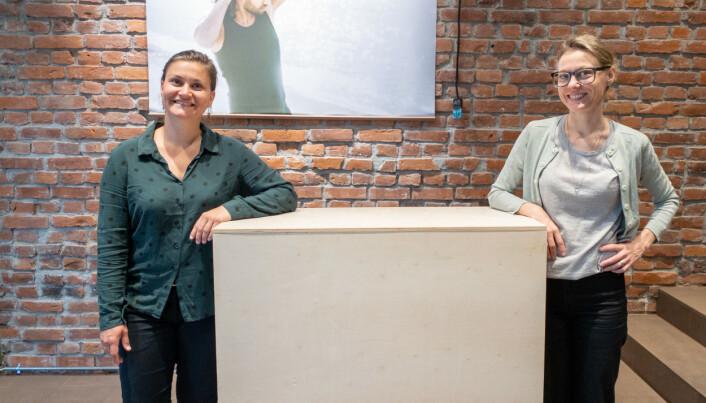 Gøril og Frøydis Pedersen