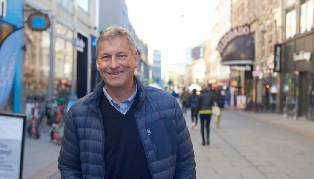 Adm. direktør Bjørn Næss i Oslo Handelsstands Forening