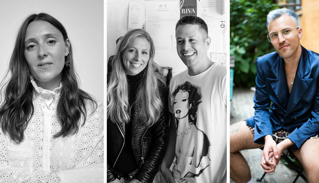 De tre finalistene Nikolaj Storm Copenhagen, Mother of Pearl og Teatum Jones