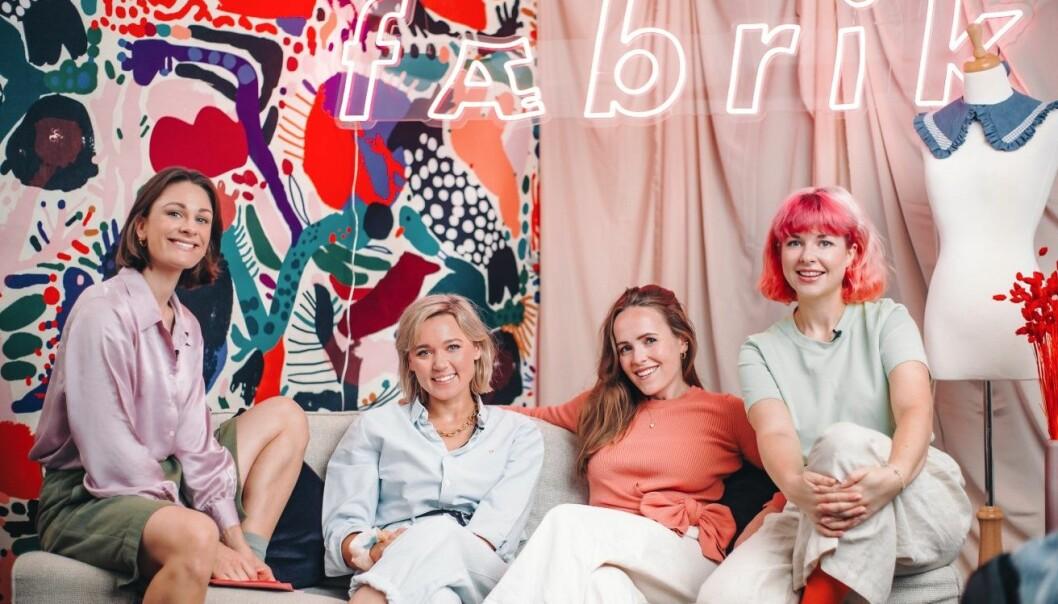 Fæbrik består av Jenny Skavlan, Ingrid Bergtun, Mari Nordén og Ingrid Lysne.
