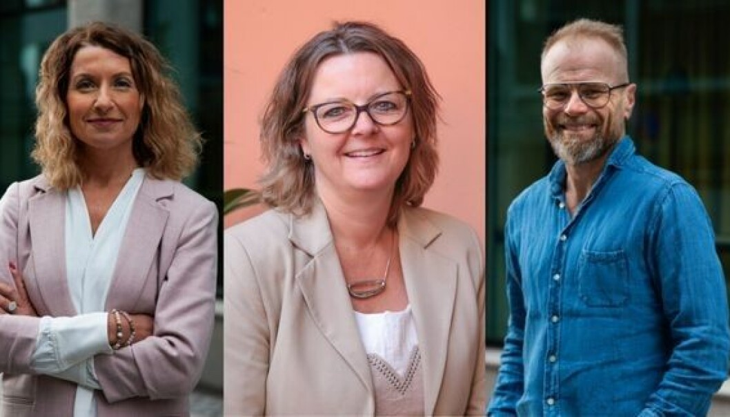 Hege Ulveland, Annelise Kiønig og Nils Ola Bark