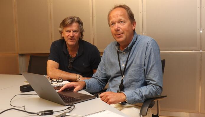 Henning Hexeberg og Bård Spilling, begge med verdifull erfaring fra sko- og tekstilbransjen, har stor tro på teknologene bak Zizr og gleder seg på vegne av hele verdikjeden til å gå 'live'.