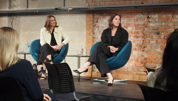 Jenny Skavlan snakket om elefanten i rommet under From Maker to Changemaker konferansen: Vi produserer alt for mye klær.