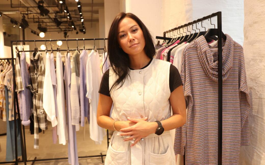 Miljø, strikk og jeans i fokus for Anh-Marthe Storheil