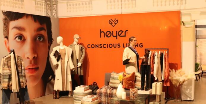 Høyer presenterte sitt nye konsept Conscious Living