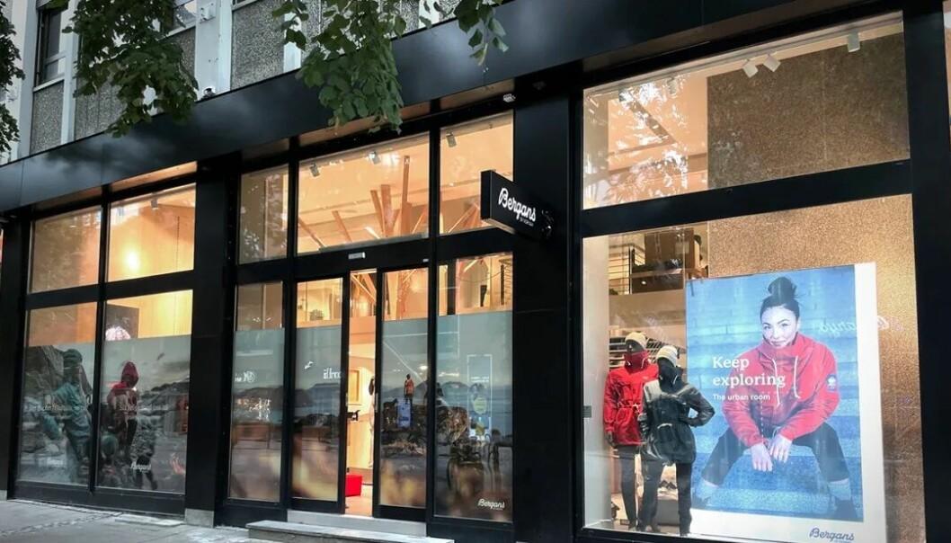 Bergans nye butikk i Trondheim