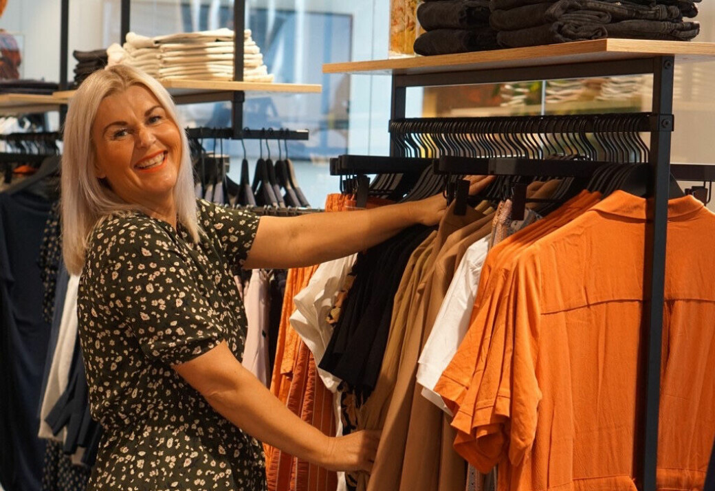 Anette Elseth Bergane tilbyr i sin butikk Nora for alle på Arkaden klær for enhver lommebok.